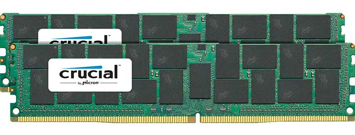 Crucial 128GB DDR4 2400MHz