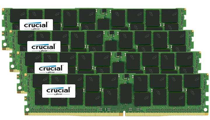 Crucial 64GB DDR4-2400 LRDIMM
